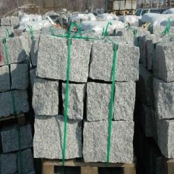 Granit Quader rot 40 cm hoch 60 - 130 cm lang