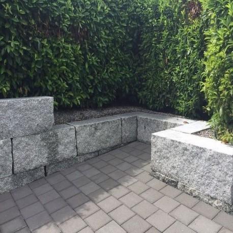 Basalt Edel Splitt lose Körnung 16 - 32 mm