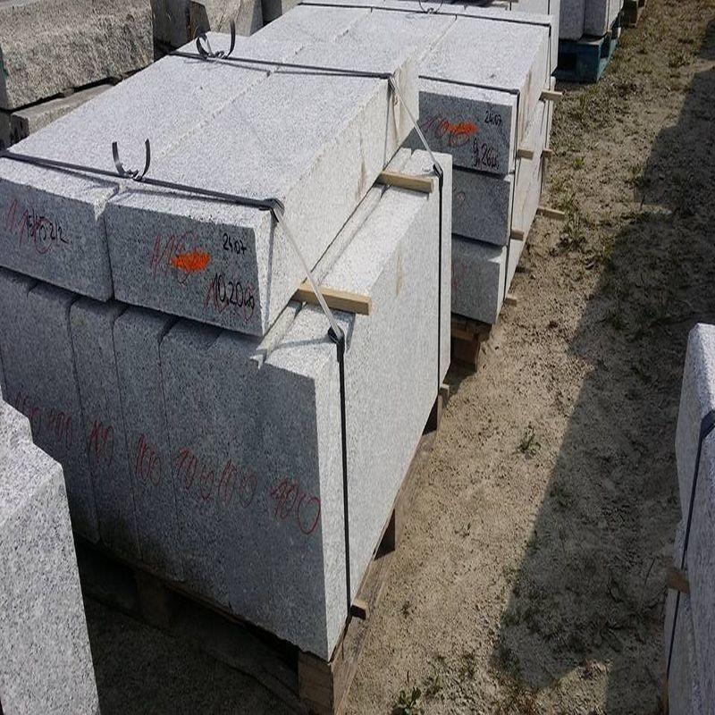 granit pfosten griys hellgrau 20 x 20 cm natur steine org. Black Bedroom Furniture Sets. Home Design Ideas