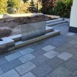 Jura Kalk Mauersteine 20 cm hoch gespalten aus Bayern