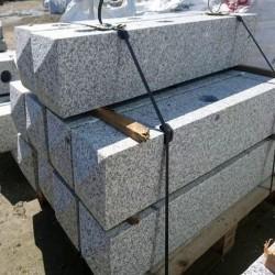 Granit Mauersteine Hellgrau 10 cm hoch