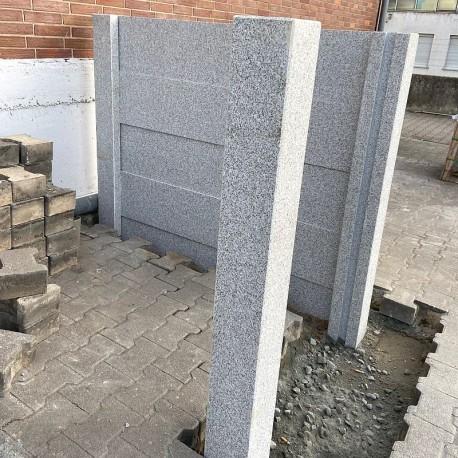 Granit Kollane Pflaster Steine Gelb 15 x 17 cm gespalten