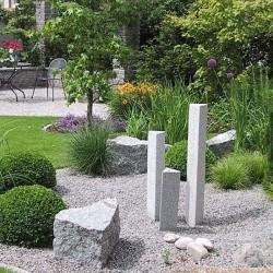 Limes Granit Pfosten Griys Grau 15 x 15 cm
