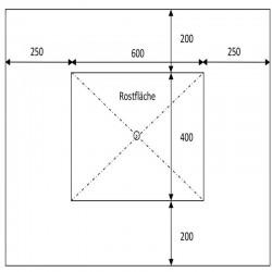 Sandstein Blockstufen Grün 15 x 35 100 cm lang