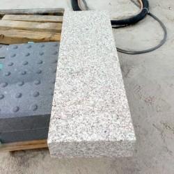 Granit Pflaster Platten Gelb 8 cm kugelgestrahlt