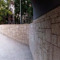 Limes Granit Pfosten Tiago Gelb 30 x 30 cm 300 cm lang