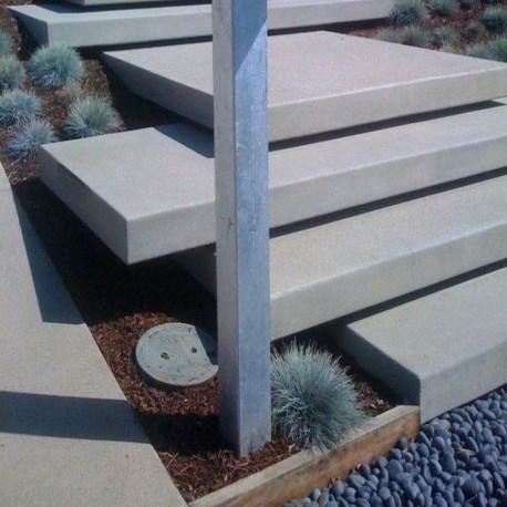 Granit-Pflaster Platten Griys Hellgrau 8 cm