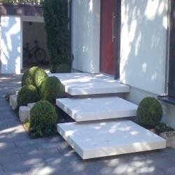 Granit Pflaster Platten Griys Hellgrau 8 cm
