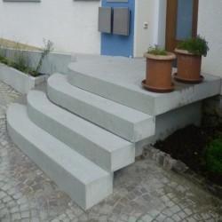 Antike Granit Pflaster Platten 5 cm geflammt