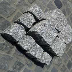 Granit-Blockstufen Alvaro Anthrazit 15 x 35 cm