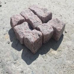 Granit Blockstufen Hellgrau 20 x 35 cm