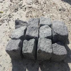 Granit Blockstufen Griys hellgrau 20 x 40 cm