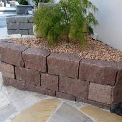 Schiefer-Blockstufen 14 - 16 cm hoch
