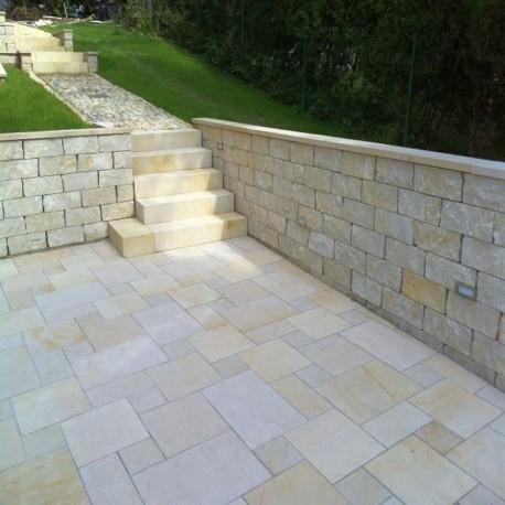 Granit Schotter Griys hellgrau in Big Bag Körnung 8-16 mm