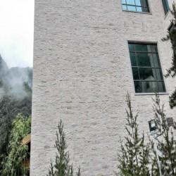 Granit Pfosten Tiago Gelb 15 x 15 cm