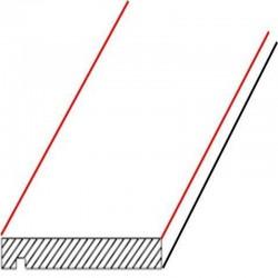 Granit Palisaden Anthrazit 10 x 25 cm