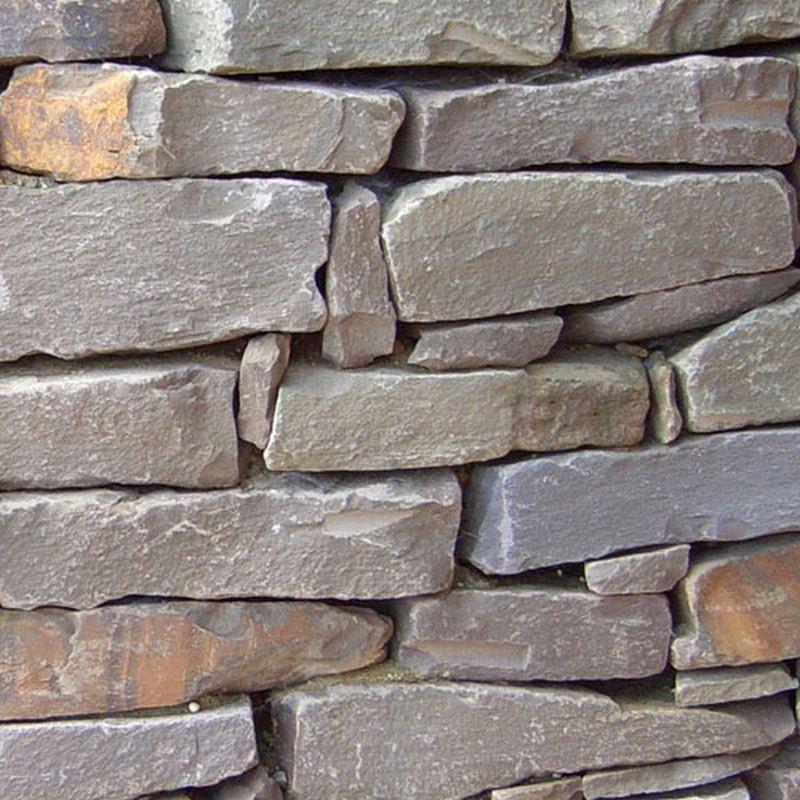 Granit Palisaden Hellgrau 10 X 25 Cm Natur Steine Org