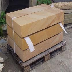 Granit Podest Platten Tiago Gelb 15 cm stark 150 x 150 cm