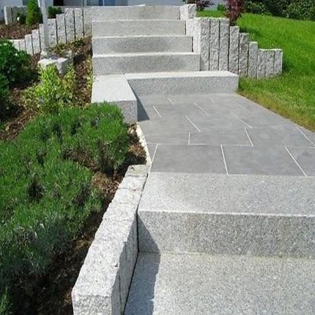 Granit Terrassen Platten Anthrazit 3 Cm Natur Steine Org
