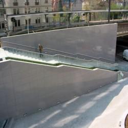 Granit Terrassen Platten Alvaro Antrhazit 3 cm geflammt