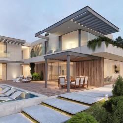 Granit Blockstufen Tiago Hellgelb 18 x 35 cm gestrahlt