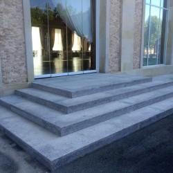Sandstein Mauer Abdeck Platte Mulicolour 3 cm mit Wassernase