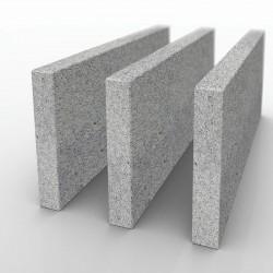 Granit Mauersteine Hellgrau 25 x 25 x 40 cm auf Paletten