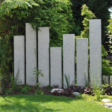 Muschelkalk Mauersteine 50 - 60 cm hoch