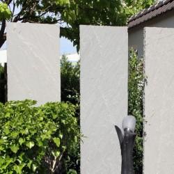 Muschelkalk Mauersteine 50 - 60 cm hoch lose