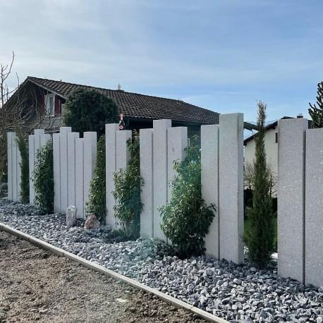 Mauer Abdeckplatten Granit Tiago Gelb 3 cm