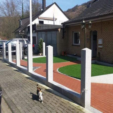 Granit Terrassen Platten Elena Weiß 3 cm