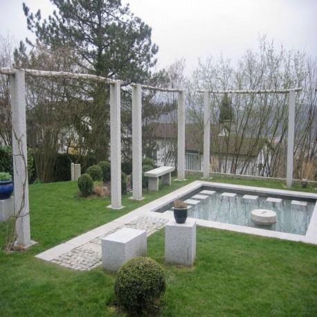 Granit Terrassen Platten Laahs Rot 3 cm