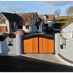 Granit Palisaden Tiago Gelb 8 x 20 cm 100 cm lang