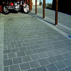 Granit Sichtschutz Tiago Gelb 10 x 100 cm 300 cm lang