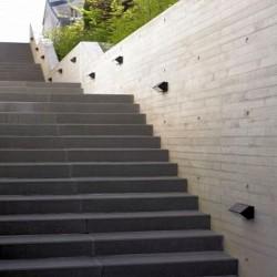 Granit Pfosten Tiago Gelb 30 x 30 cm 200 cm lang