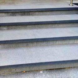 Granit Podest Platten 100 x 150 cm 15 cm stark