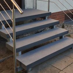 Granit Podest Platten 150 x 150 cm 15 cm stark