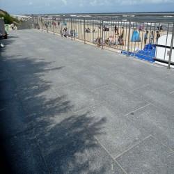Basaltlava Terrassen Platten Vulcano Anthrazit 80 x 80 x3 cm