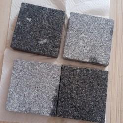 Granit Mauersteine 40 cm hoch gesägt