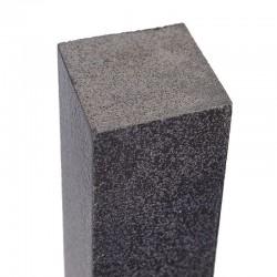 Basalt Sitzblöcke Schwarz