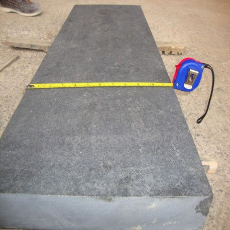 Sitz Blöcke Granit Elena Weiß 45 x 45 x 45 cm geflammt