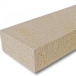 Kalkstein Pflaster Weiß gespalten Größe 7 x 9 cm