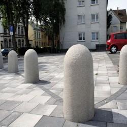 Granit Pflastersteine Saga Light Rot-Grau gespalten