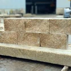 Basaltlava Bordstein Vulcano 8 x 25 cm