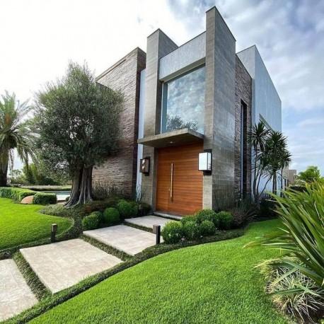Schiefer Mauersteine Oxido  8- 15 cm hoch bunt palettiert